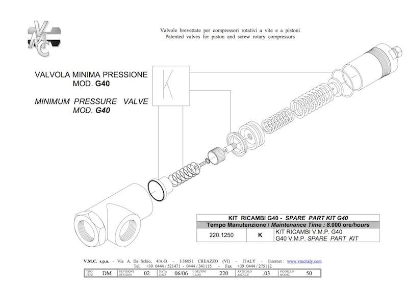 (MPV G40 Kit standard)-compressorkar