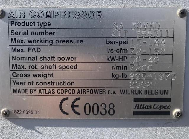 GA30 VSD FF-compressorkar1