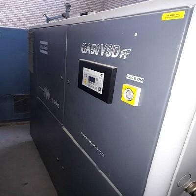 کمپرسور اطلس کوپکو GA50 VSD FF مدل 2005
